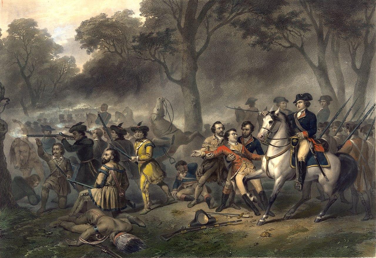 Who Is Major General George Washington?